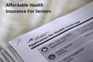 Average Cost for Senior Heath Insurace
