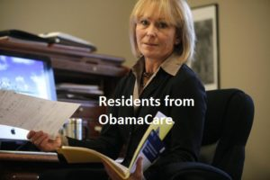 Residents from ObamaCare